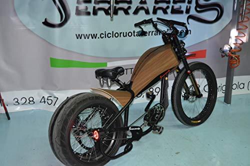 Cicli Ferrareis Harley Davidson Replica E-Bikes Chopper Bobber Fat Bike BAFANG
