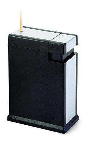 Winkee Zahnstocherspender Lorenzo   Zahnstocher auf Knopfdruck   Toothpick Holder/Dispenser   Lustiges Küchen Gadget   8 x 5,5 x 3 cm