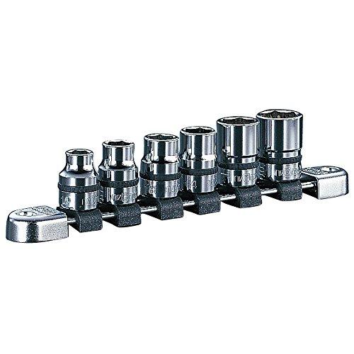 京都機械工具(KTC) ソケットセット ネプロス NTB406A 差込角:12.7mm 6個組 1セット