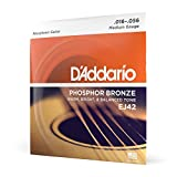 D'Addario Electric Guitar Strings (EJ42), Resophonic, 16-56