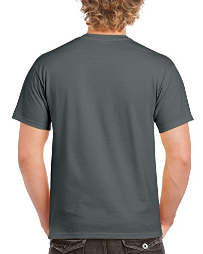 Gildan Men's G2000 Ultra Cotton Adult T-Shirt, Charcoal, X-Large