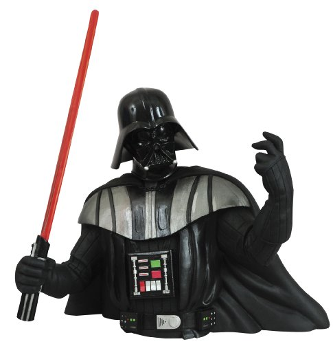 Star Wars: Darth Vader Rotocast Bust Bank image