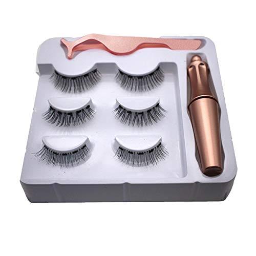eyeliner liquide magnétique avec cils magnétiques 3d, doublure de cils magnétique pour faux cils magnétiques