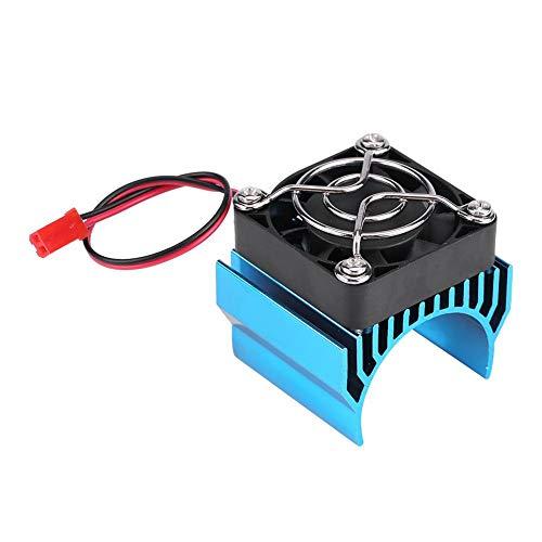 Zouminy motorverwarmer met koelventilator voor RC auto in schaal 1/10 540/550/3650