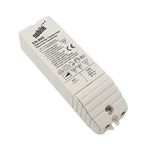 Elektronischer Transformator 20-80VA / 12V / 230V Einbau Trafo EN-80 D AC/DC für Halogen und LED