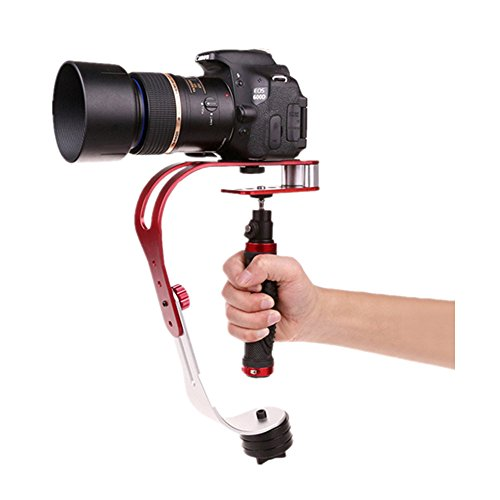 Pinty Handheld Video Camera Stabilizer for GoPro (Red)
