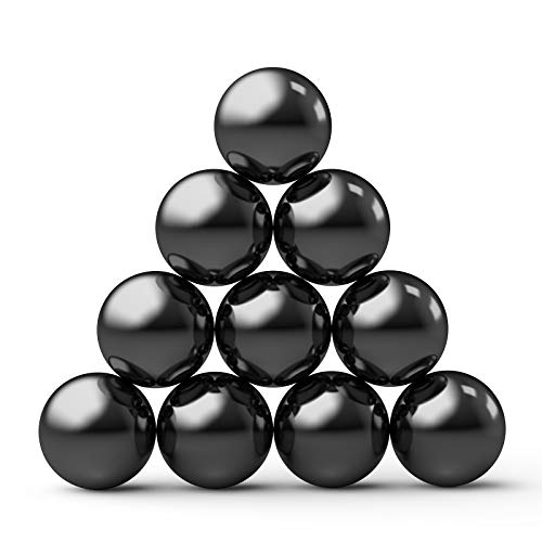 Large Magnets Balls 8 PCS Magnetic Blocks Stones Rings Science Gadget Stress Relief Fidget Toys Kit For Kids, Party Gift Supplies Favors Brain Teaser Toy Creativity, Imagination, Inspiration (1 Inch)