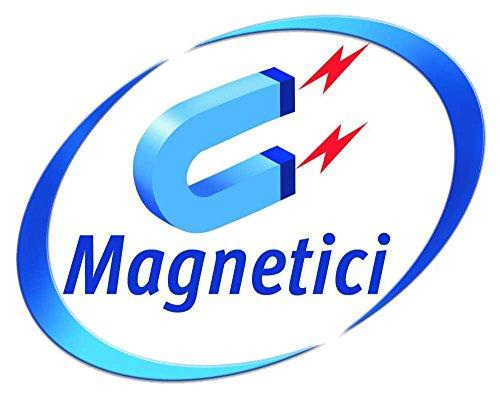 Avery J8871-5 Cartelli Bianchi Magnetici, 18 Cartelli per Foglio, 5 Fogli, 78 x 28