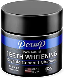 Activated Charcoal Teeth Whitening Powder - Natural Teeth Whitening - Made in USA