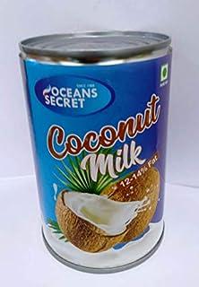 Oceans Secret Coconut Milk 12-14 % Fat, 400 ml (Pack of 4)