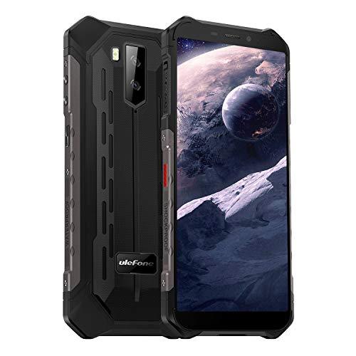 Ulefone Armor X5 Outdoor-Handy - Octa-Core 4G Dual-SIM-Smartphone ohne Vertrag Android 9 3GB RAM 32GB ROM IP68/IP69K 5,5-Zoll-Display 5500 mAh Unterstützung für große Akkus NFC