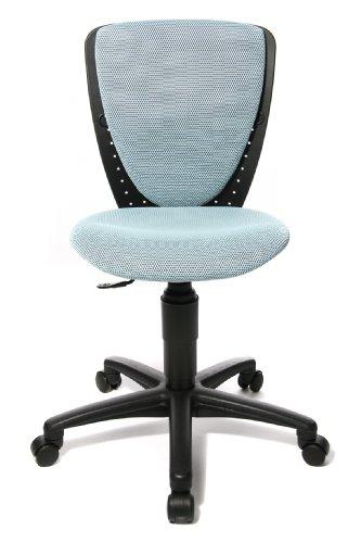 Topstar 70570BB30 High S\'cool, Kinder- und Jugenddrehstuhl, Schreibtischstuhl für Kinder, Bezugsstoff hellblau