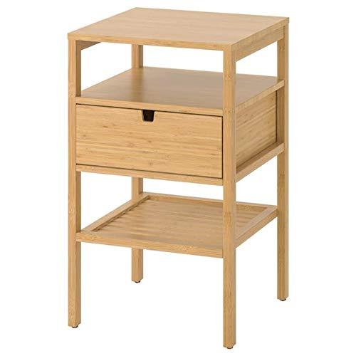 Ikea Nordkisa - Mesita de noche Bambú 604.476.77