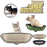 Arteki Cat sucker window sill nest - cat sun hammock window habitat - Cat Basking...