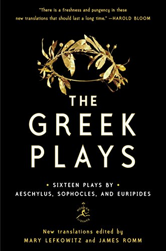 Compare Textbook Prices for The Greek Plays: Sixteen Plays by Aeschylus, Sophocles, and Euripides Modern Library Classics Reprint Edition ISBN 9780812983098 by Sophocles,Aeschylus,Euripides,Lefkowitz, Mary,Romm, James