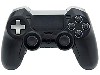Bluetooth Elite Controller Compatible with Playstation PS4 Includes Back Paddles Audio Jack Plug in for Headset