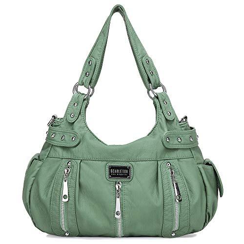 Scarleton Satchel Handbag for Women, Purses for Women, Shoulder Bags for Women, H1292_53 - Green