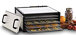 Excalibur 5-Tray Stainless Steel Dehydrator Review - see it on Amazon