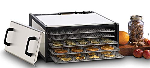 Best Buy! Excalibur 5-Tray Electric Food Dehydrator Features 26-Hour Timer Temperature Settings and ...