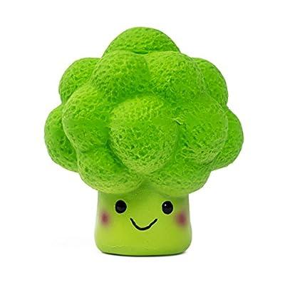 Petface Latex Broccoli Soft Chew Dog Toy, Small