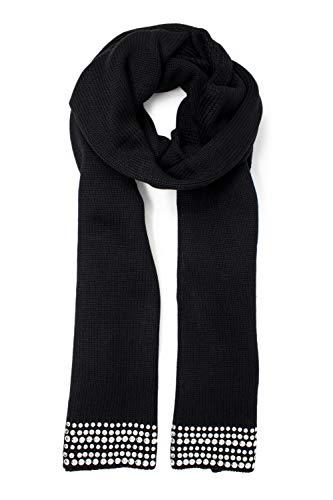 Guess Dina Scarf sjaal voor dames, zwart (Noir de Jais Jblk), maat (fabrikantmaat: One)