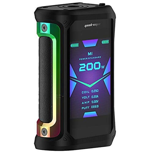 GeekVape Aegis X 200W TC Box Mod Akkuträger Farbe Rainbow