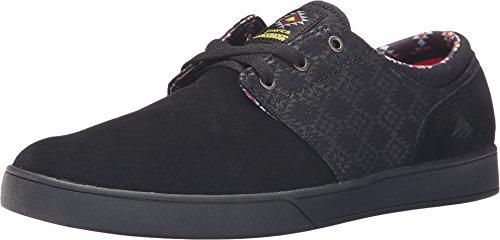 Emerica Figueroa (Figgy) Skateschuh, Schwarz (schwarz), 45 EU