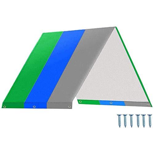 Kaxofang Conjunto de Columpio Lona de Reemplazo Toldo de Techo para Parque Infantil, Cubierta de Trampa Impermeable para Niios con Protector Solar para Exteriores