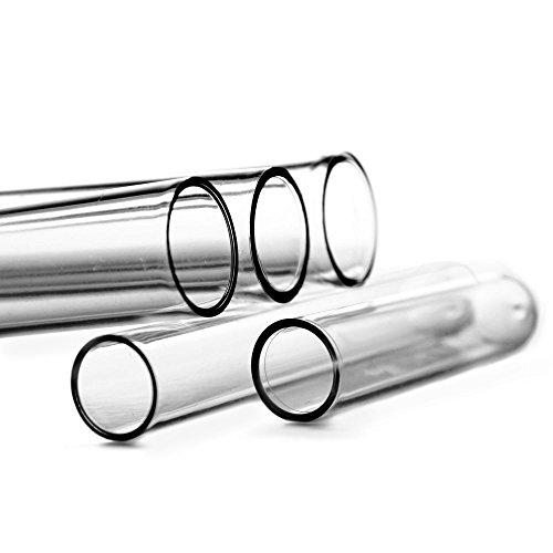 Tuuters 100x plastic reageerbuisjes | plastic reageerbuizen | polystyreen, 105 x 17mm, 1