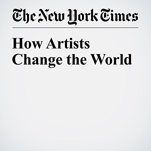 How Artists Change the World audiobook cover art