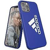 adidas Funda diseñada para iPhone 12 Pro MAX 6.7, Sports Iconic, Fundas a Prueba de caídas, Bordes elevados, protección Deportiva, Color Azul