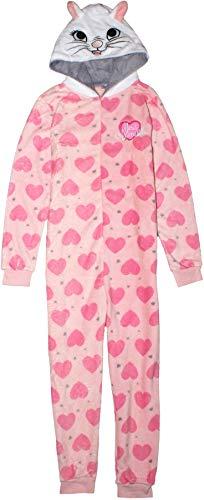 Disney Aristocats Pyjama à capuche pour femme Motif chat Marie - Rose - 40
