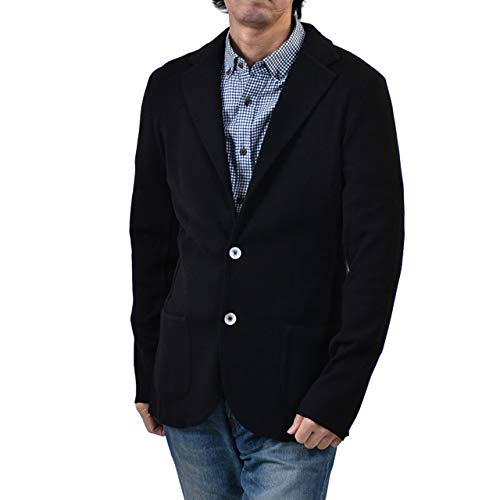 (ラルディーニ) LARDINI テーラードジャケット 53001 999 M ブラック [並行輸入品]