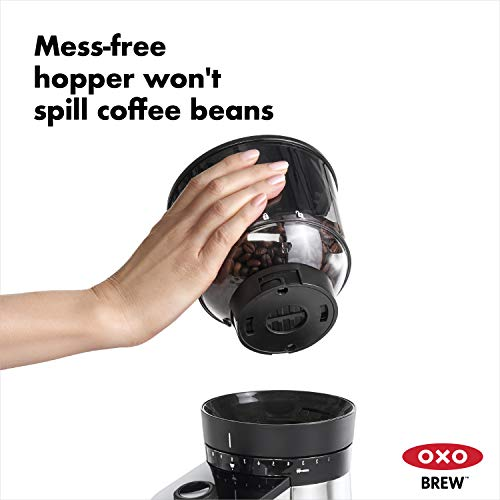 OXOONコーヒーグラインダー電動式バリスタブレインスケール付き国内仕様8710200