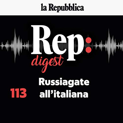 Couverture de Russiagate all'italiana
