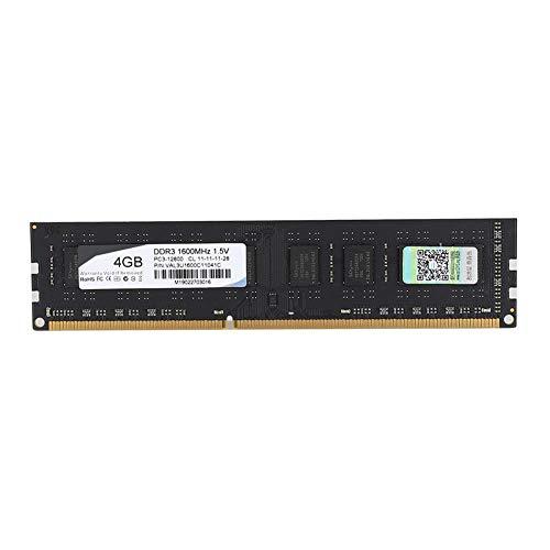 Memória RAM durável, placa de memória, 1,5 V de baixa energia para computador desktop Office Home(4GB)