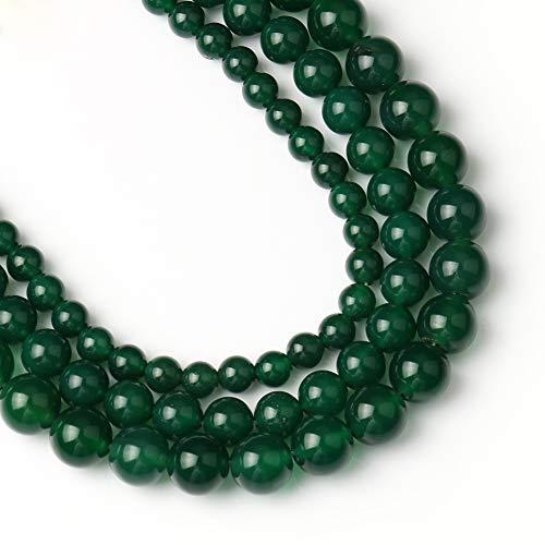Yochus 10mm Green Agate Gemstone...