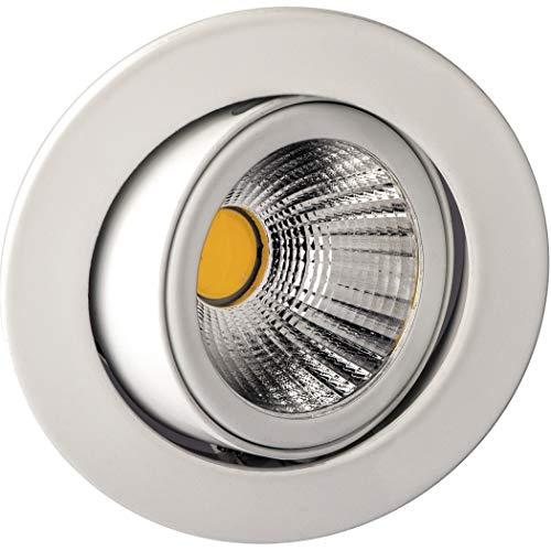 DELUNA® LED-Alu-Einbaustrahler schwenkbar weiß komfortweiß