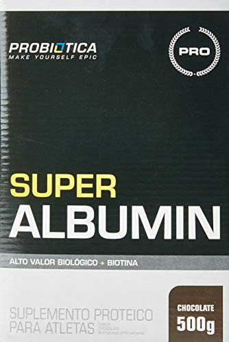 Super Albumin (500G) - Sabor Chocolate, Probiótica