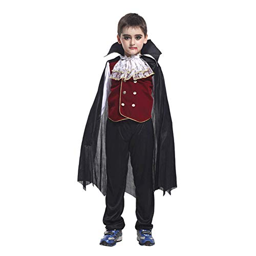 Ljings Fairytale Witch Deluxe Set Pretend Play Party Cosplay para Nio Nia Disfraz Halloween Vestido,B0038,XL