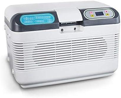 Refrigerador 2-8 Grados Congelador de insulina Termostato Control de Temperatura Mini Pequeña Caja refrigerada portátil para el hogar y Caja de insulina para automóvil (41X28.5X28.5Cm)