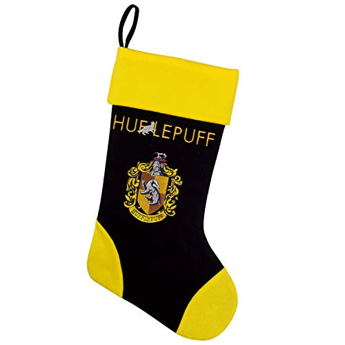 Cinereplicas Harry Potter Calcetines de Navidad - 46cm (Hufflepuff)