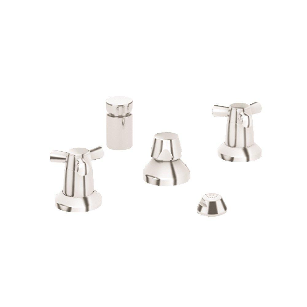Grohe K24015-18084-EN0 Arden Bidet Fitting Kit, Brushed Nickel