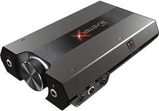 Przetwornik DAC do gier Sound BlasterX G6 7.1 HD i zewnętrzna karta dźwiękowa USB ze wzmacniaczem słuchawkowym Xamp dla PS...