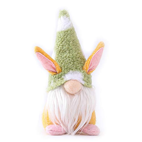 Selma. Easter Bunny Dwarf Decoration Easter Faceless Doll Easter Plush Dwarf Family Party Decoration Children's toys for Girlfriend Valentine's Mother's Day Present