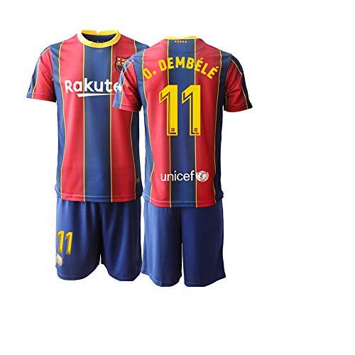 JEEG 20/21 Herren O.DEMBELE 11# Fußball Trikot Fans Jersey Trainings Trikots (M)