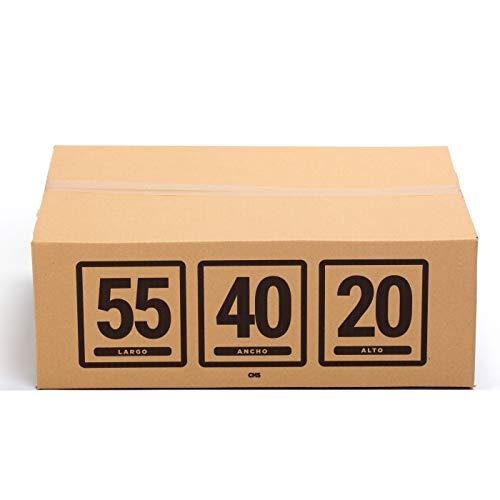 TeleCajas® | 55x40x20 cms | (10x) Caja Cabina Ryanair | Pack de 10 cajas