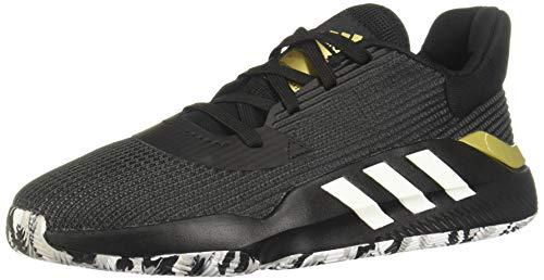 Adidas Pro Bounce 2019 Low, Zapatillas de Baloncesto Hombre, Negro (Negbás/Ftwbla/Dormet 000), 48 EU