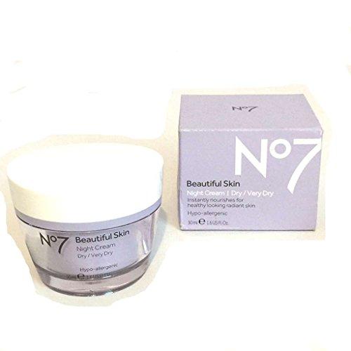 No7 Beautiful Skin Night Cream Normal/Oily Skin