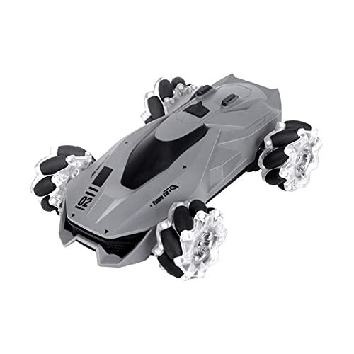 4WD RC Stuntwagen, 2,4 Ghz Op Afstand Bestuurbare Auto Kinderspeelgoed, LED-licht Dubbelzijdig 360 ° Flip